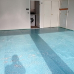 Garage floor painting, Richmond, after