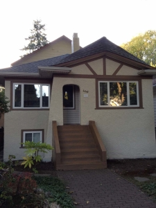 House 2 painting, Vancouver, after