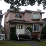 House painting, Vancouver, before