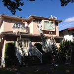 House painting, Vancouver, during