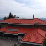 Roof3 painting, West Vancouver