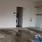 Garage floor painting, Richmond, before